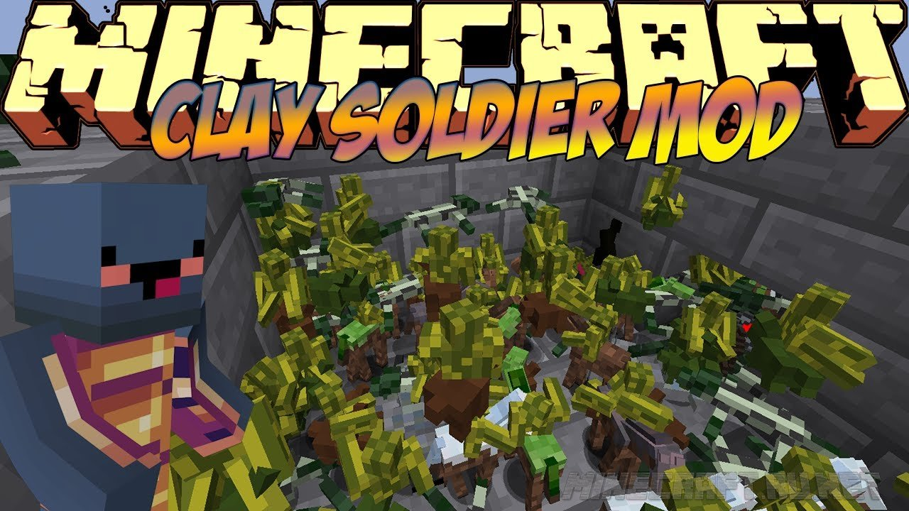 Minecraft Clay Soldiers