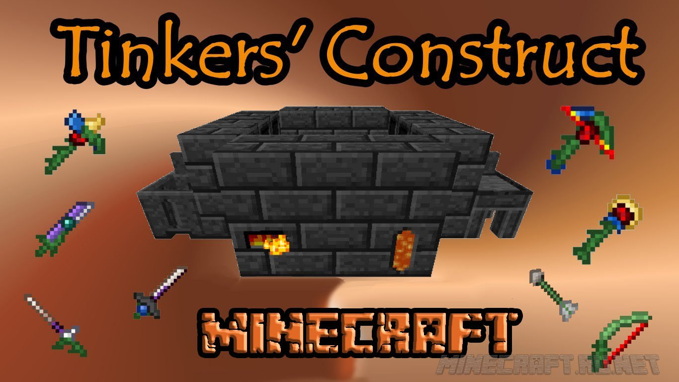 Tinkers' construct mod 1. 12. 2/1. 11. 2 (weapon, tool manufacturing.