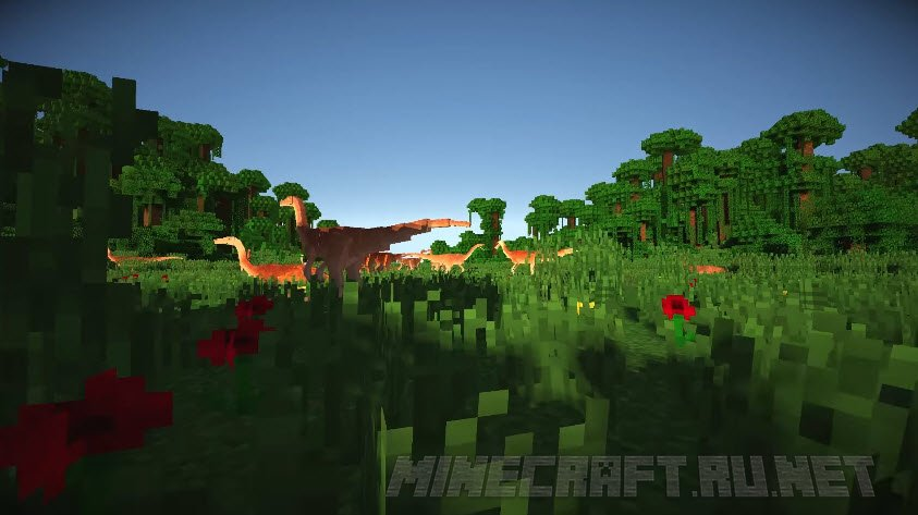 JurassiCraft v 2 0 3 [1 10 2] › Mods › MC-PC NET — Minecraft