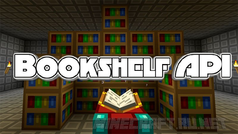 Bookshelf API V142327 1102 Mods MC PCNET Minecraft