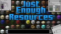 Just Enough Resources - Mods