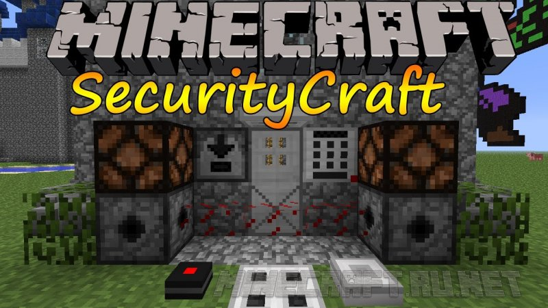Securitycraft защита [1. 12. 2] [1. 11. 2] [1. 10. 2] [1. 8. 9] [1. 7. 10.