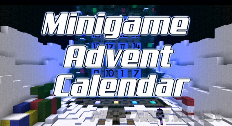 Майнкрафт Minigame Advent Calendar