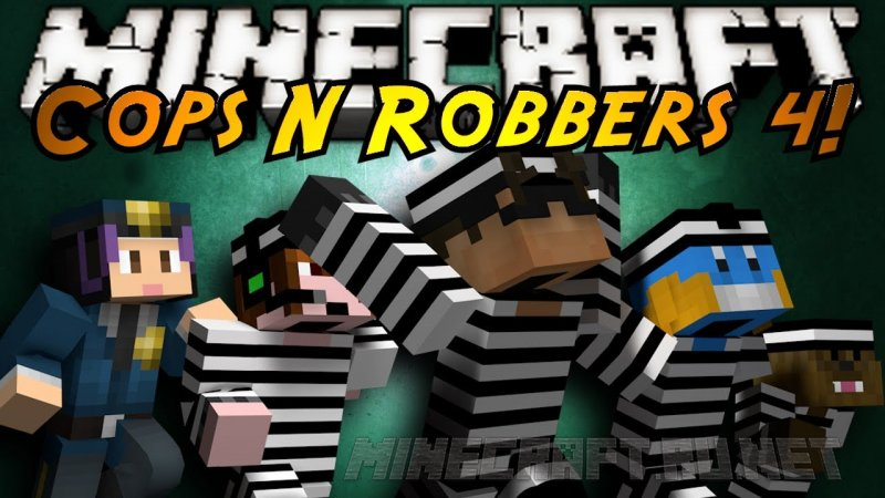 Майнкрафт Cops and Robbers 4: High Security