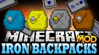 Iron Backpacks - Моды