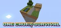 One Chunk Survival - Maps