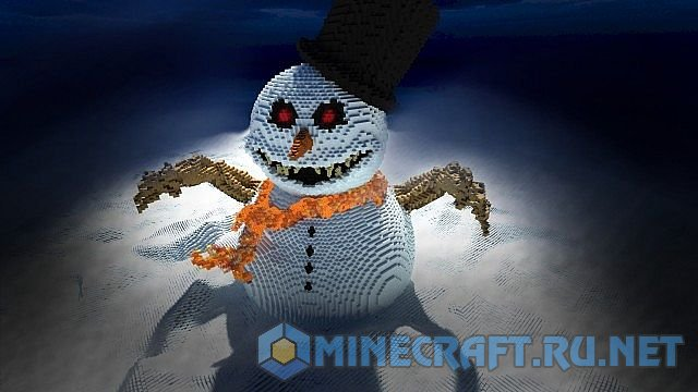Minecraft Frosty the Snowman
