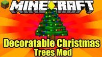 Decoratable Christmas Trees - Mods