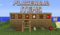 Placeable Items - Моды