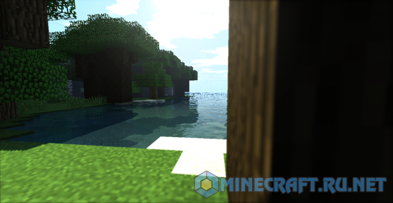 Майнкрафт Green World Shaders 1.8-1.13