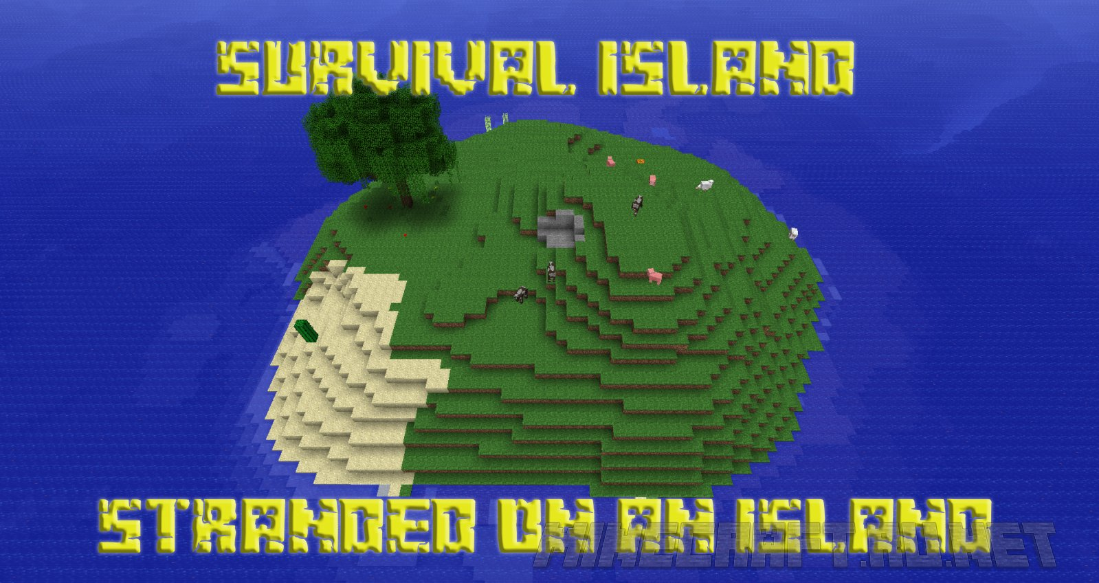 Майнкрафт Survival Island - Stranded on an Island