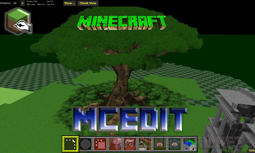 Minecraft MCEdit