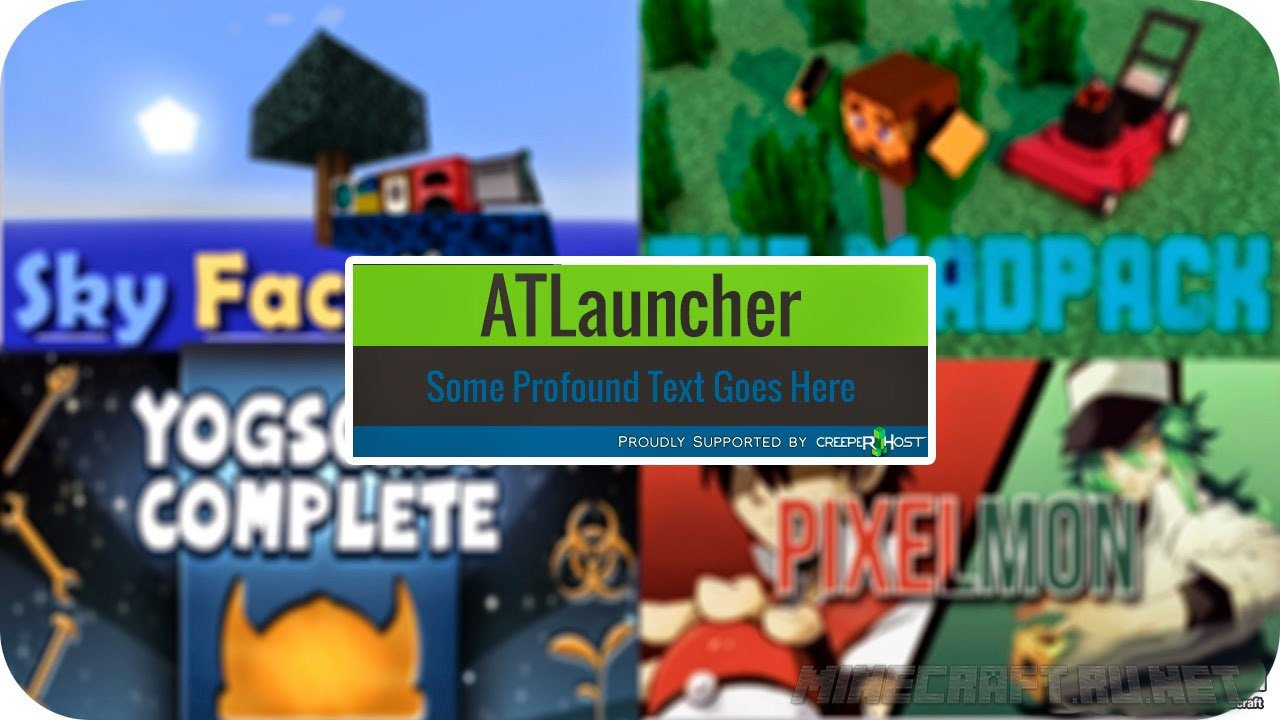 Minecraft ATLauncher