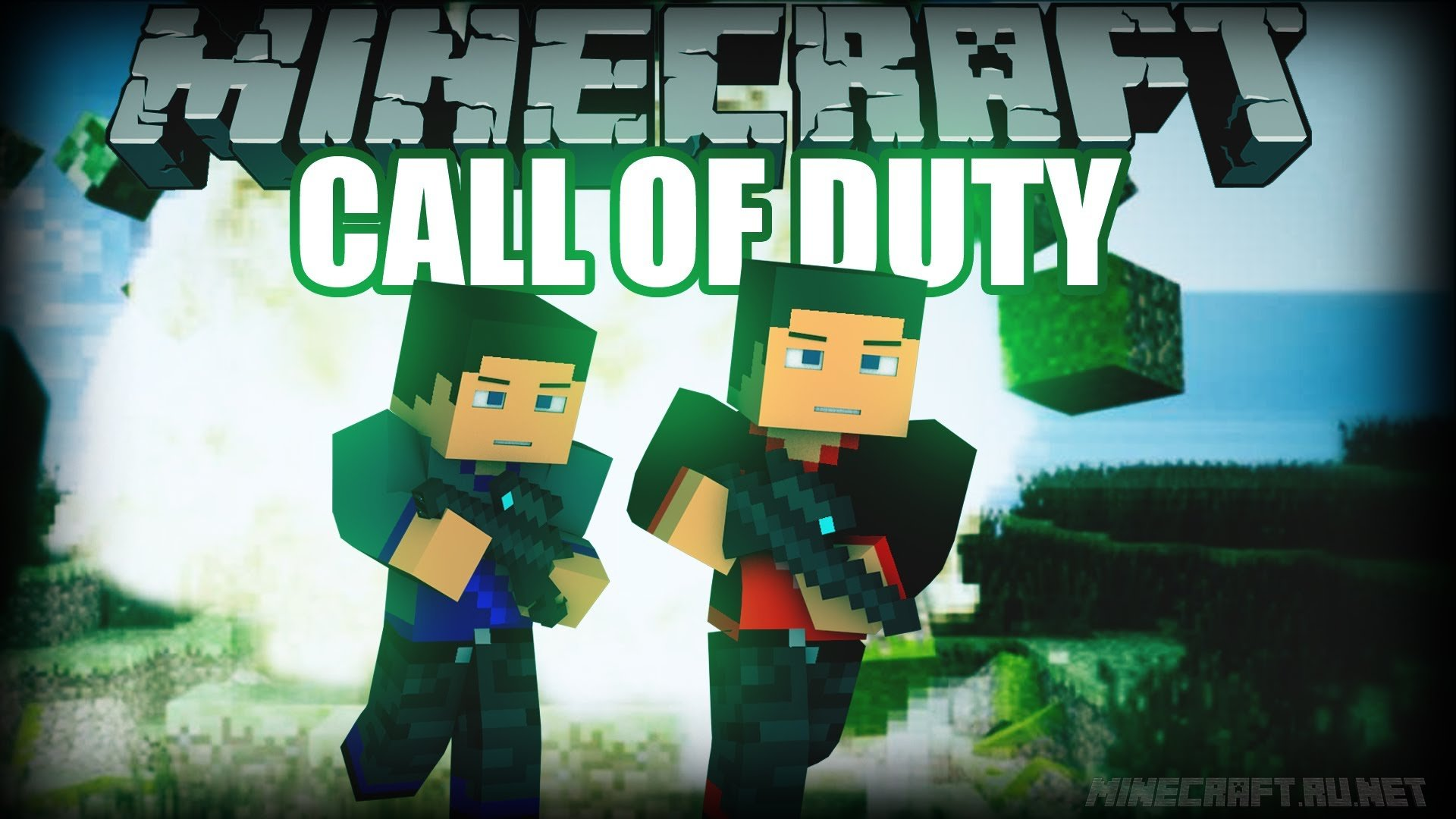 Minecraft Call Of Minecraft: One mans army