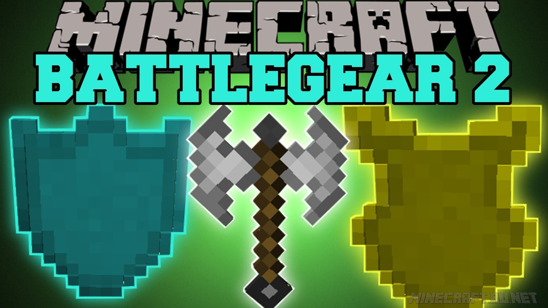 Minecraft Mine & Blade Battlegear 2 - Bullseye