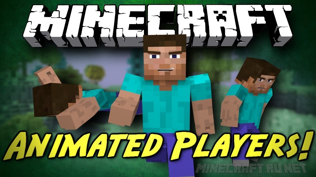 Minecraft Animated Player