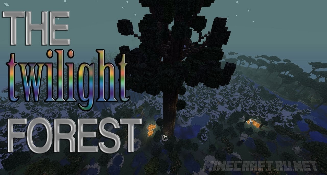 Minecraft Twilight Forest