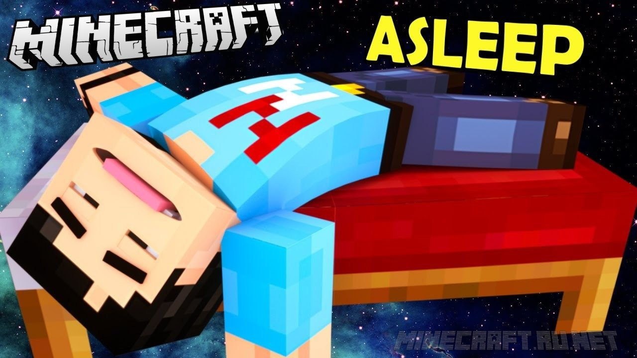 Minecraft Asleep