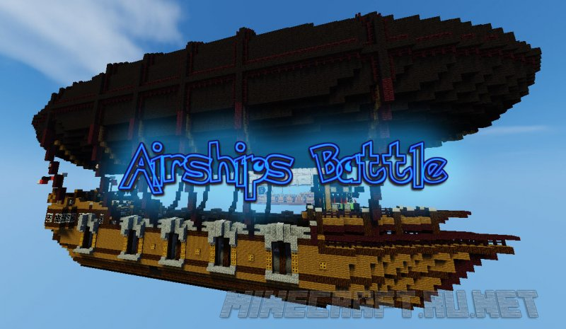 Minecraft Airships Battle