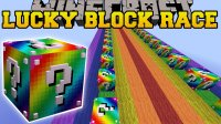 Rainbow Lucky Block Race - Maps