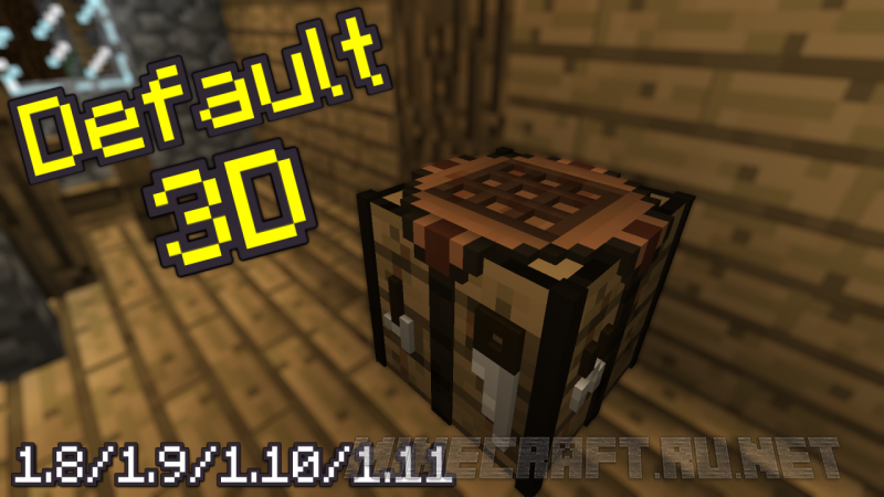 Minecraft Default 3D