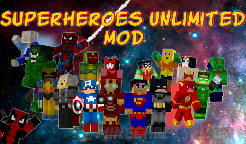Minecraft Superheroes Unlimited