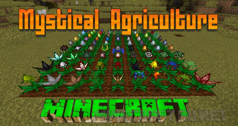 Mystical Agriculture v 1 3 6 [1 11] › Mods › MC-PC NET