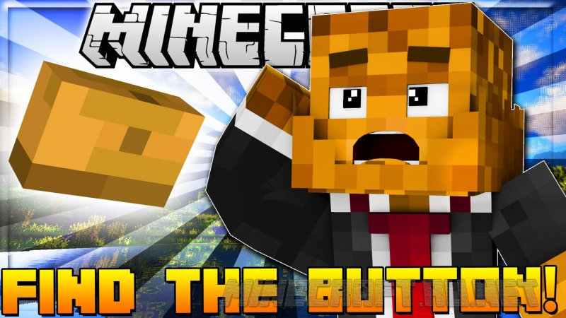 Minecraft Find Ze button Superhero Edition