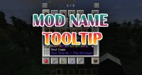 Mod Name Tooltip - Mods