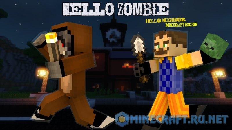 Hello zombie v 1 1 maps mc pc net minecraft - Zombie style minecraft ...