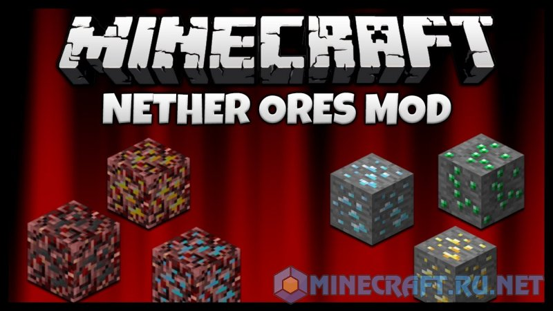 Minecraft Nether Metals