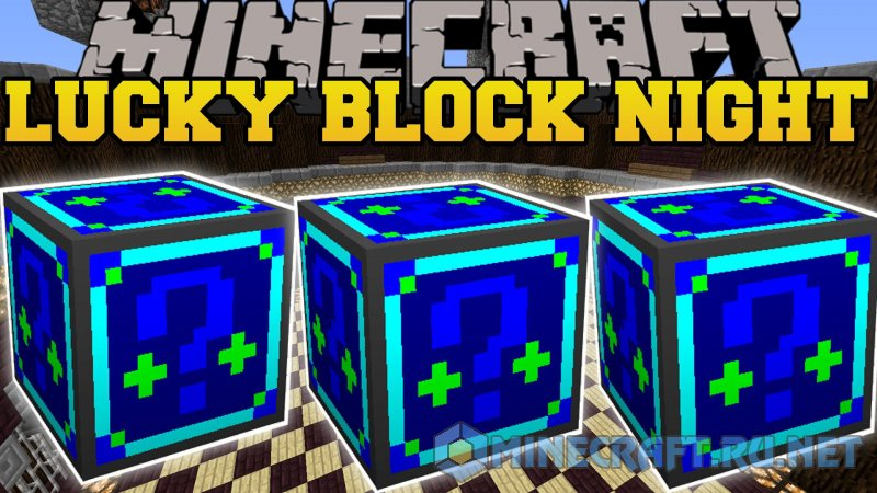 Minecraft Lucky Block Night