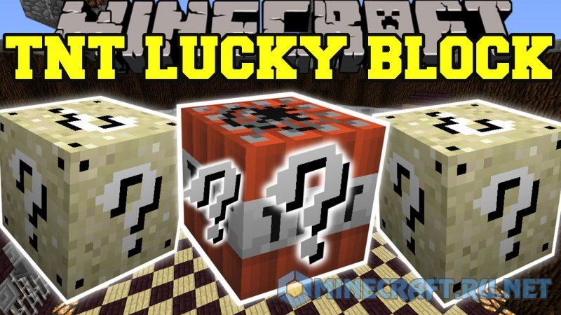 Minecraft Lucky Block TNT