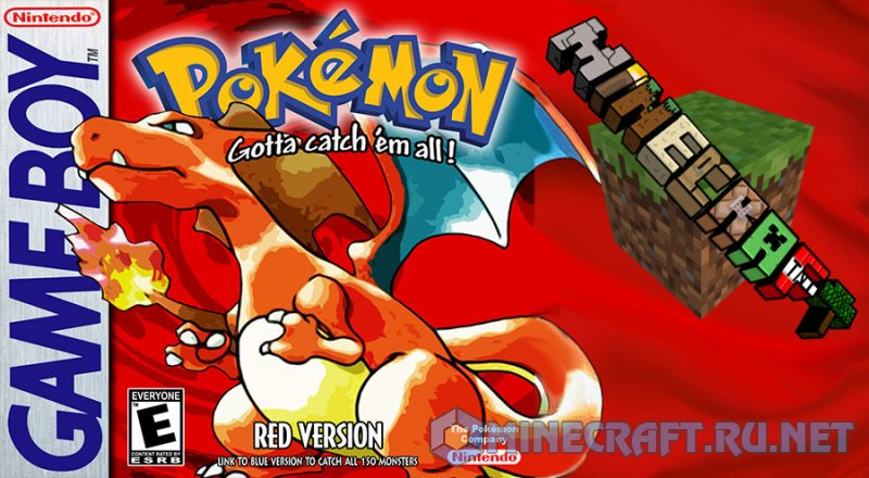 Minecraft Pokémon Red