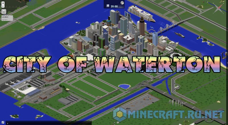 Minecraft City of Waterton