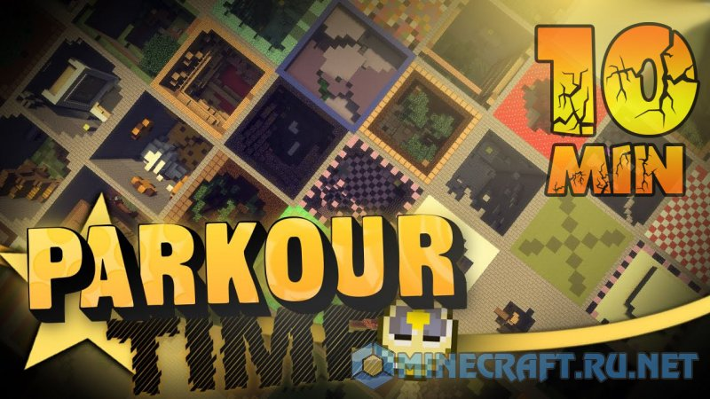 Minecraft 10 Minute Parkour