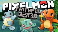 Faithful Pixelmon - Ресурс паки