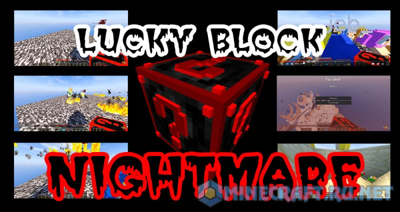 Minecraft Lucky Block Nightmare