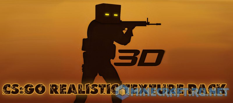Minecraft CS:GO Realistic Texture Pack