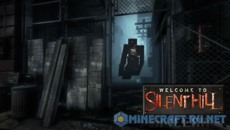 Minecraft Official Silent Hill Resource Pack