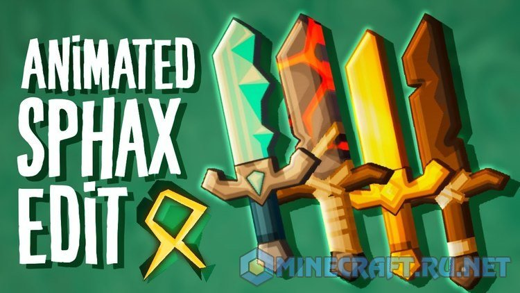 Minecraft Sphax Animated PvP Edit
