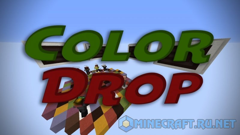 Minecraft Color Drop