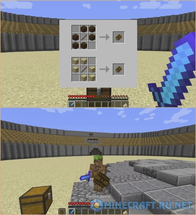 How Do You Craft A Shield In Minecraft Pc Edition