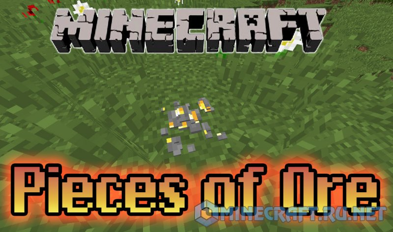 Minecraft Pieces of Ore