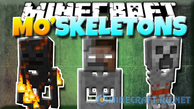 Minecraft Mo' Skeletons