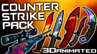 3D CS:GO Animated PvP - Resource Packs
