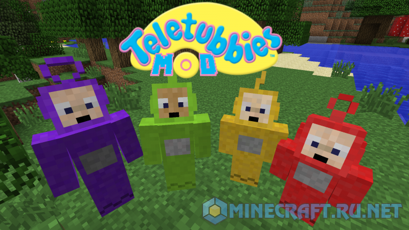Minecraft Teletubbies