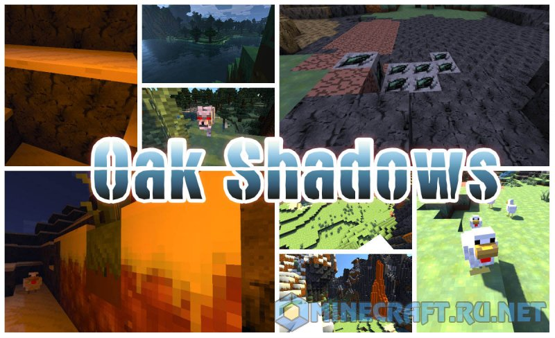 Minecraft Oak Shadows