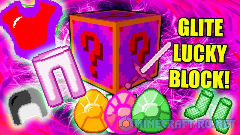 Minecraft Lucky Block Glite