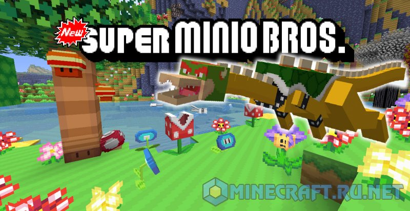 Minecraft Super Minio Bros.